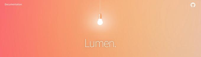 "Laravel 家族的微框架""Lumen""来了,这下又有的玩了!"